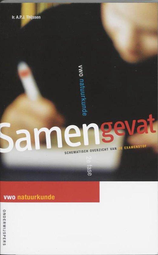 Boek cover Samengevat VWO Natuurkunde 2e fase van A.P.J. Thijssen (Paperback)