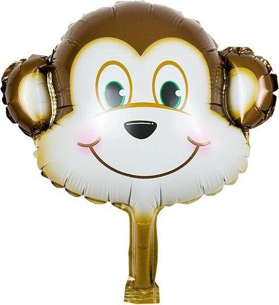 Folieballon Aap 35x20 cm