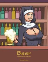 Beer Coloring Book for Grown-Ups 1