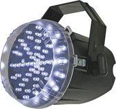 HQ Power White LED strobe 60 LEDs Zwart