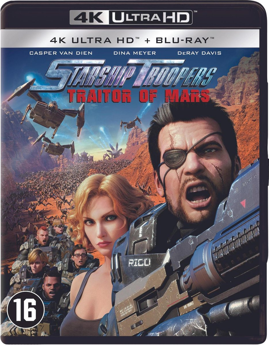 Starship Troopers: Traitor of Mars (4K Ultra HD Blu-ray)-