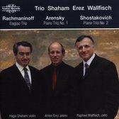 Elegiac Trio; Piano Trio No. 1 ; Piano Trio No. 2