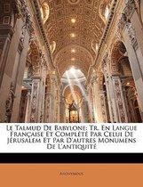 Le Talmud de Babylone
