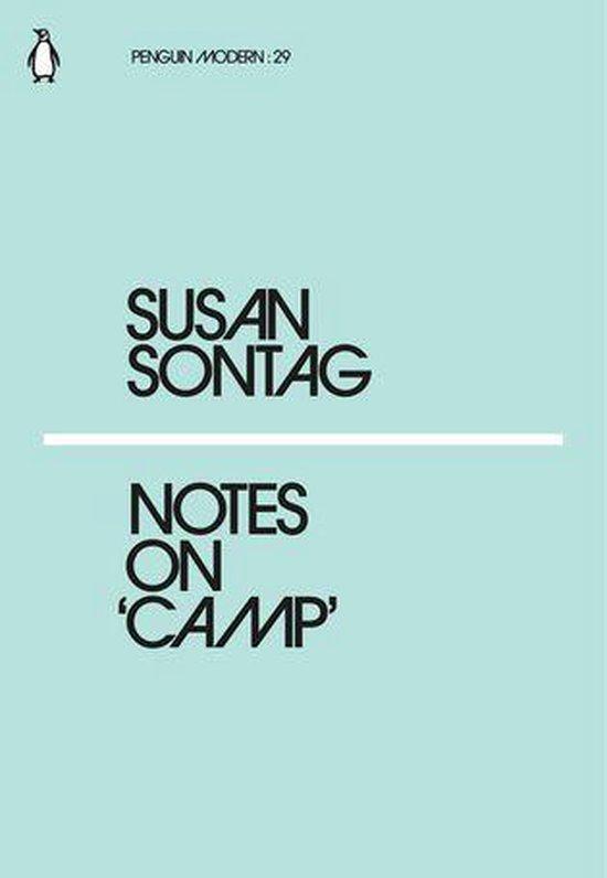 Boek cover Notes on Camp van Susan Sontag (Onbekend)