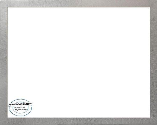 Homedecoration Misano – Fotolijst – Fotomaat – 80 x 91 cm  – Aluminium geborsteld