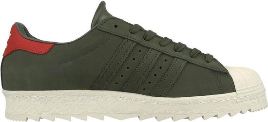 adidas superstar heren groen
