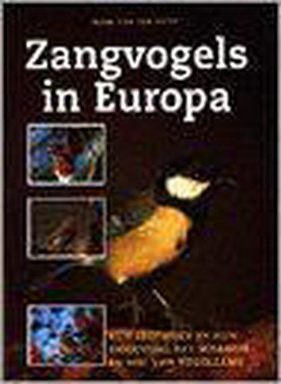 ZANGVOGELS IN EUROPA - H. van den Brink pdf epub