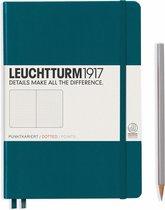 Leuchtturm1917 A5 Medium Notitieboek Dotted Pacific Green