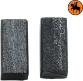 Koolborstelset voor Black & Decker frees/zaag DN41D - 5x5x10mm