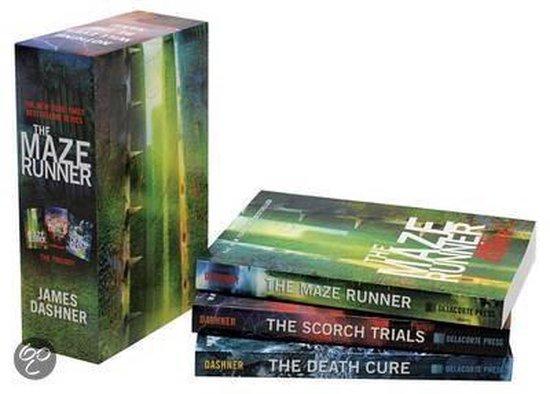 Mazed Runner Trilogy Box Set
