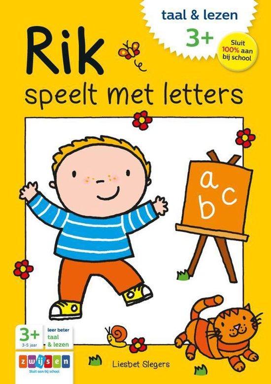 Rik - Rik speelt met letters - Liesbet Slegers  