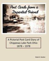 Boek cover Post Cards from a Departed Friend van Robert E Gardner