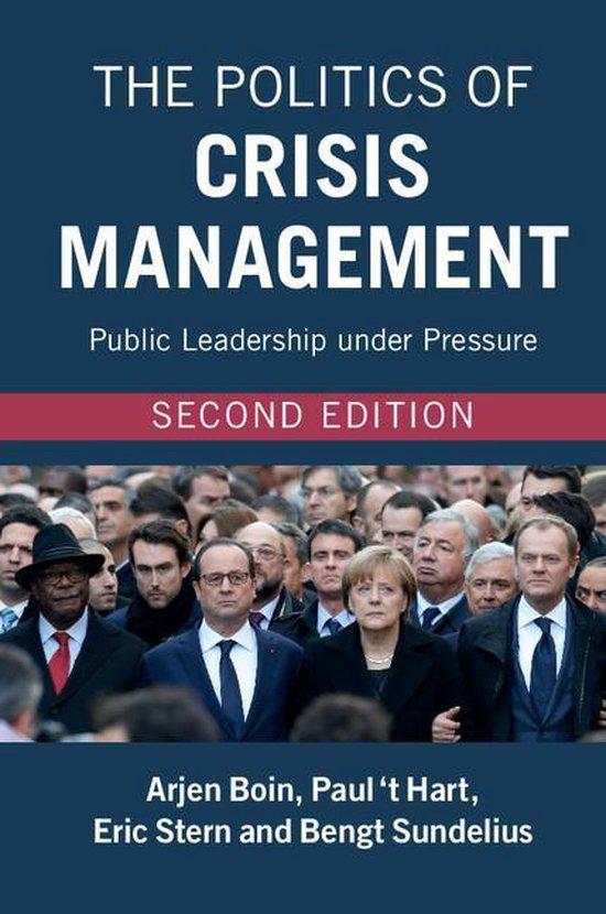 Boek cover The Politics of Crisis Management van Arjen Boin (Onbekend)