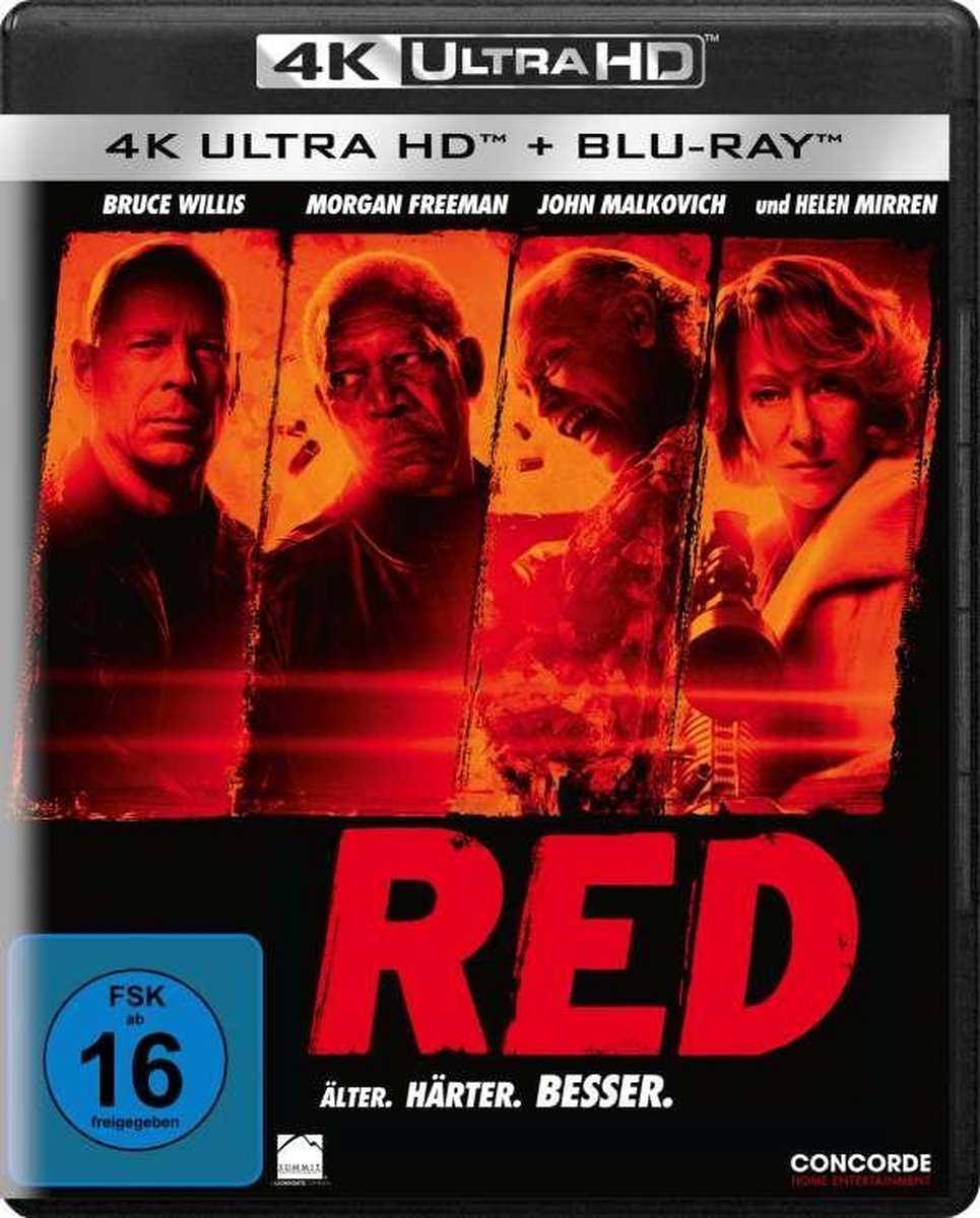 R.E.D. (Ultra HD Blu-ray & Blu-ray)-
