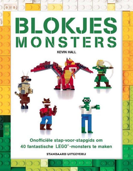 Blokjes monsters - Kevin Hall |