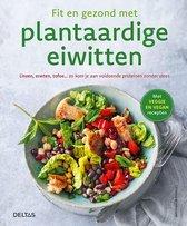Boek cover Fit en gezond met plantaardige eiwitten van Christina Wiedeman