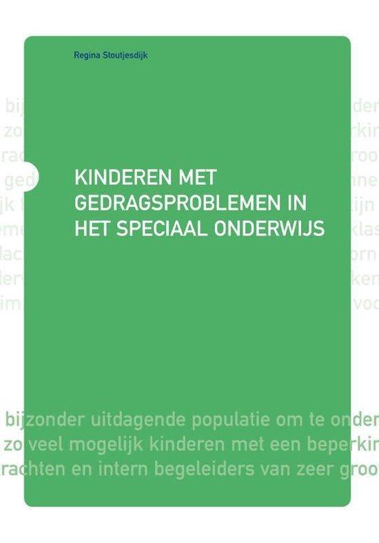 Horizon - Kinderen met gedragsproblemen in het speciaal onderwijs - Regina Stoutjesdijk |