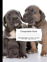 Cane Corso Composition Notebook