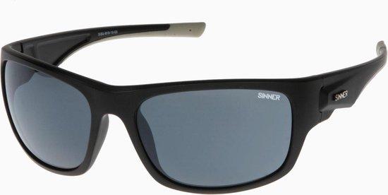 Sinner Bruno Unisex Zonnebrillen - Zwart - One Size