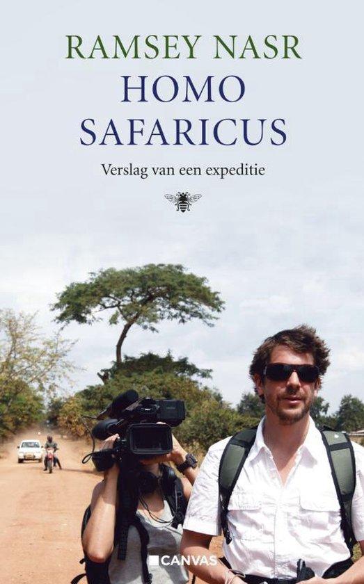 Boek cover Homo safaricus van Ramsey Nasr (Paperback)