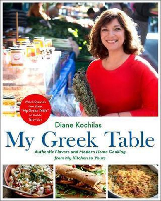 Boek cover My Greek Table van Diane Kochilas (Hardcover)
