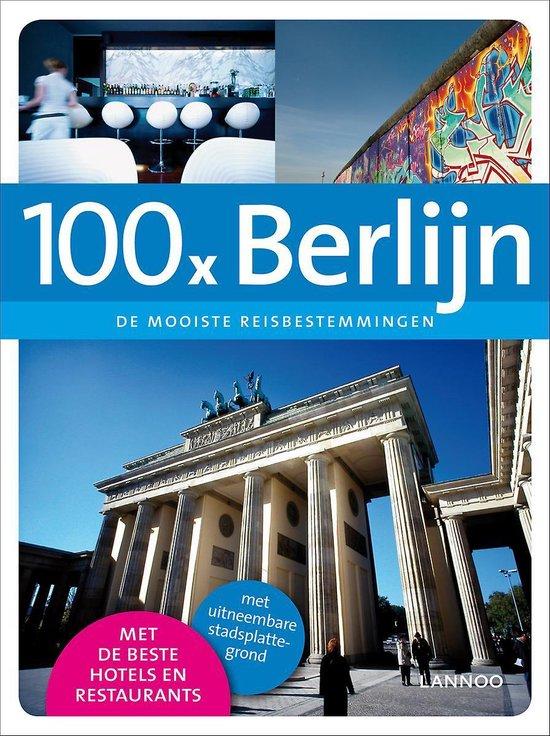 Cover van het boek '100 x Berlijn' van Peter Jacobs