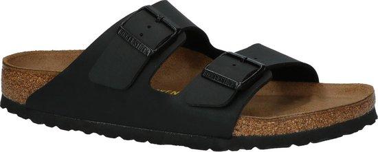 Birkenstock Arizona Heren Slippers - Black - Maat 45