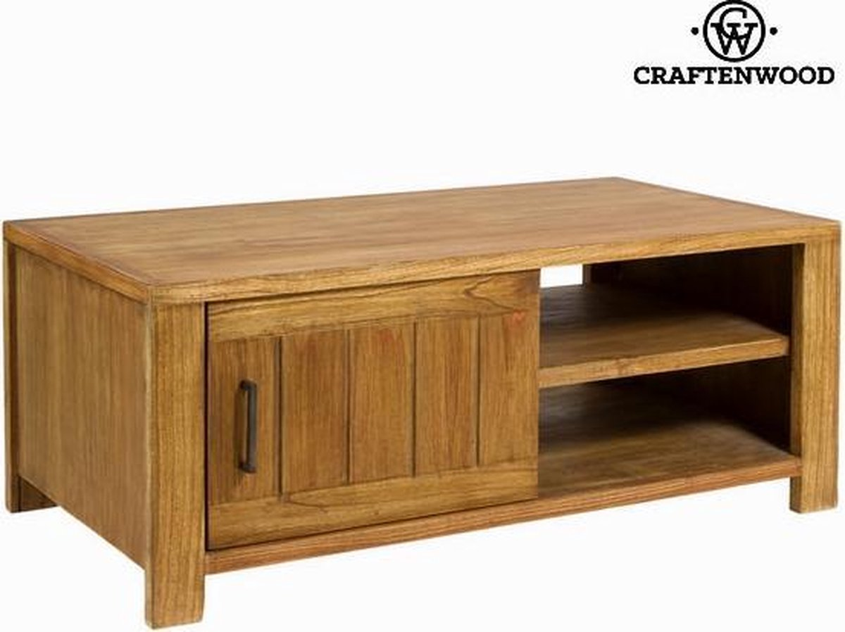 TV – tafel Mindi hout (110 x 60 x 45 cm) - Square Collectie by Craftenwood