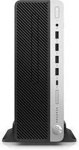 HP ProDesk 600 G4 Intel® 8ste generatie Core™ i5 i5-8500 8 GB DDR4-SDRAM 256 GB SSD Zwart, Zilver SFF PC