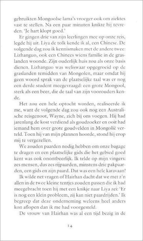 KOUDE HEUVELS VAN MONGOLIE - C. Visser |