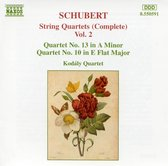 Schubert: String Quartets Vol 2 / Kodaly Quartet