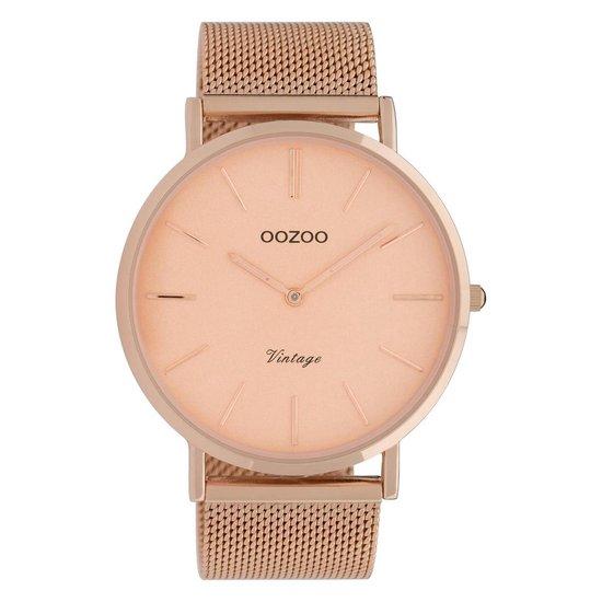 OOZOO Vintage horloge C9920 Rosékleurig 44mm