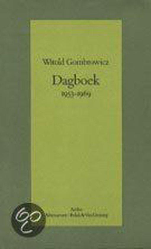 Boek cover Dagboek 1953-1969 van Witold Gombrowicz (Hardcover)