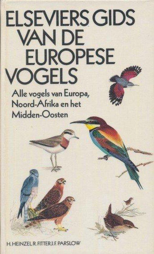 Omslag van Elseviers gids europese vogels