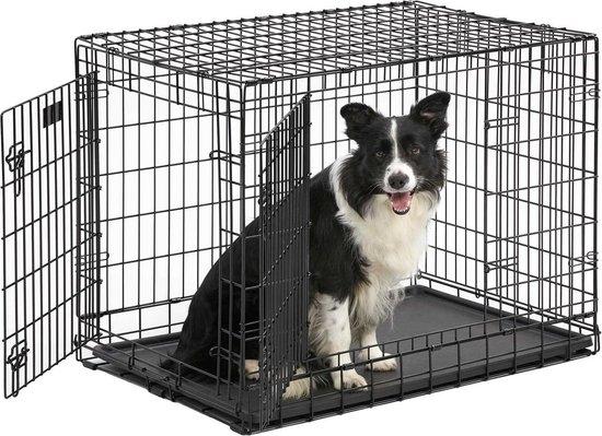 Hondenbench - Zwart - L - 92 x 57 x 64 cm