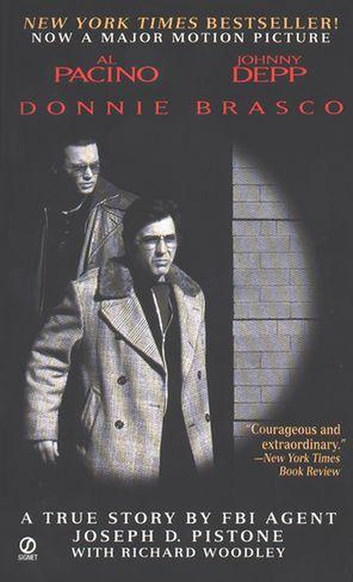Boek cover Donnie Brasco van Joseph D. Pistone