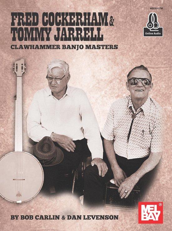 Boek cover Fred Cockerham & Tommy Jarrell Clawhammer Banjo Masters van Bob Carlin (Onbekend)