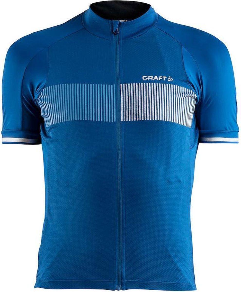 Craft Verve Glow Jersey Fietsshirt - Heren - True Blue/Coast - Craft