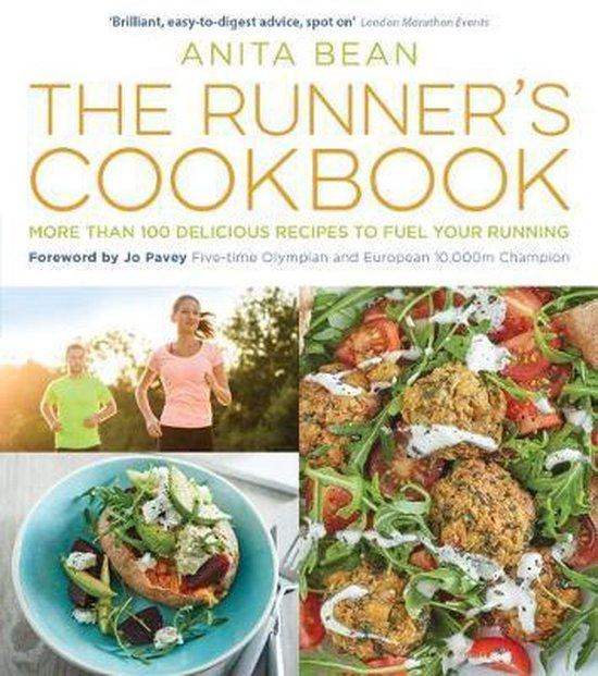 Boek cover The Runners Cookbook van Ms Anita Bean (Paperback)