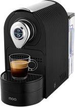 MOA Koffiecupmachine - Koffieapparaat voor cups -espresso & lungo - Zwart - ECM201B