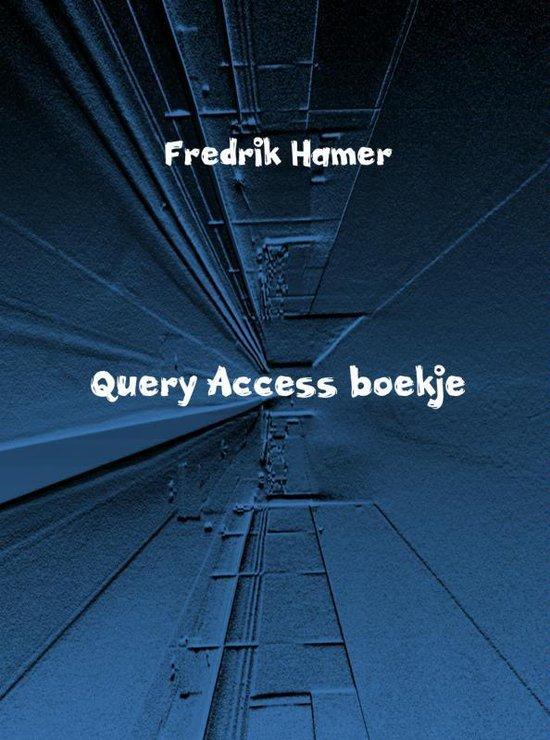 Cover van het boek 'Query access boekje'
