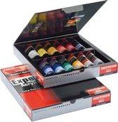 Expert set 12 kleuren 20 ml tubes acrylverf