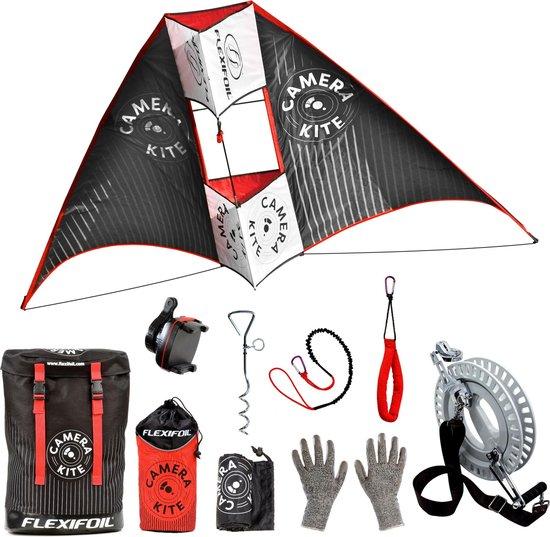 Flexifoil Camera Kite Pakket