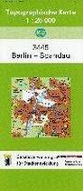 Berlin Spandau 1 : 25 000