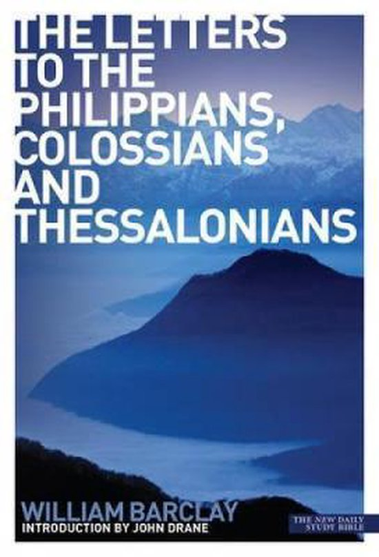 Boek cover The Letters to the Philippians, Colossians and Thessalonians van Peter C. Craigie (Paperback)