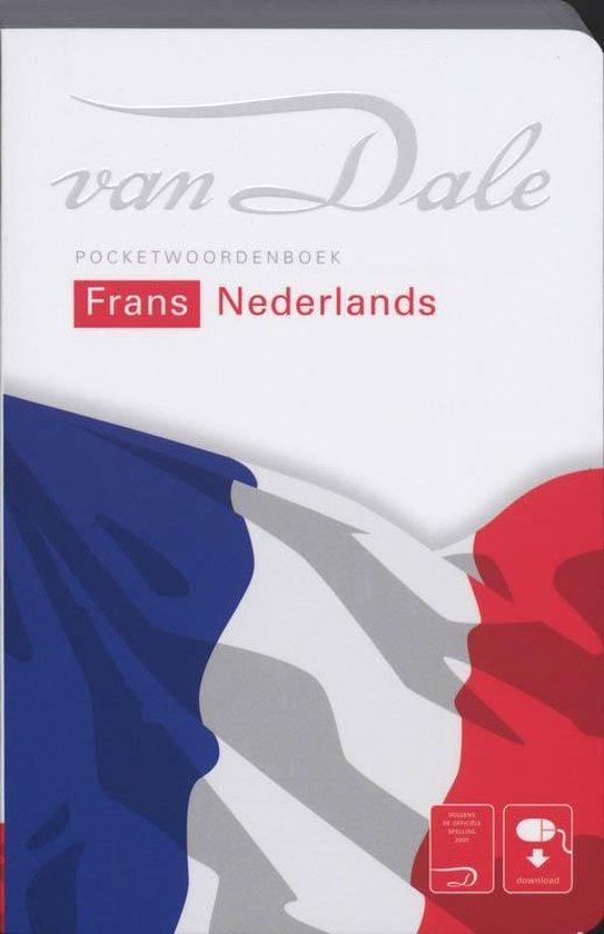 Cover van het boek 'Van Dale pocketwoordenboek Frans - Nederlands'