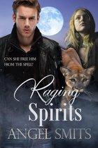 Omslag Raging Spirits
