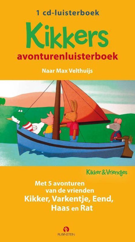 Kikker & Vriendjes - Kikkers avonturenluisterboek - Max Velthuijs |