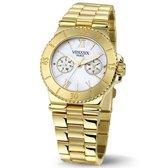 VENDOUX The Asia Gold/Pearl MD11536-12 - Horloge - Unisex - Goudkleurig -  Ø 36mm