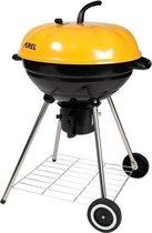 Perel Houtskoolbarbecue - 'PUMPKIN' - 52 cm